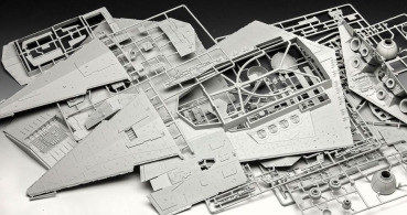 Imperial Star Destroyer Model Kit 1/2700, Star Wars, 60 cm