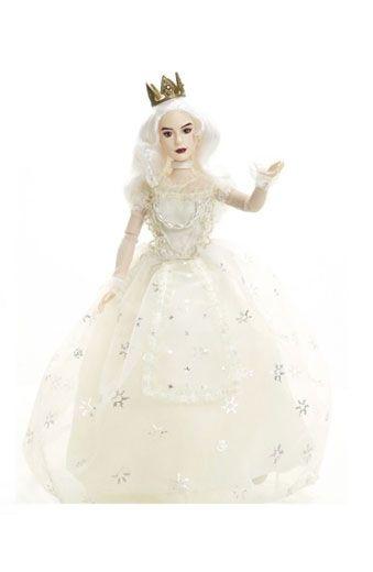 Weiße Königin Puppe Alice Im Wunderland Hinter Den Spiegeln 28 Cm