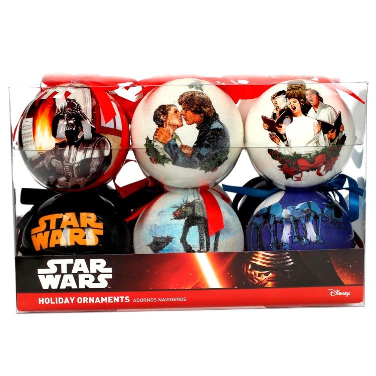 Nightmare Before Christmas Christbaumkugeln.Star Wars Weihnachtsbaum Kugeln Christmas Scenes 12er Pack