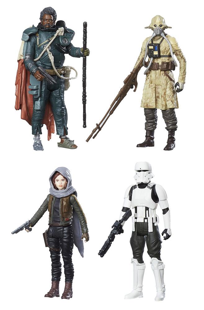 "Star Wars Rogue One Saw Gerrera Jedha Revolt 3 3//4/"" Figure"