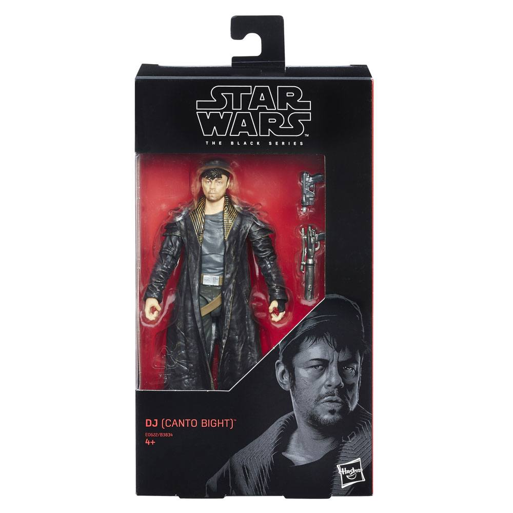 Wave 15 EP VIII DJ Canto Bight 6-Inch Action Figure Star Wars Black Series