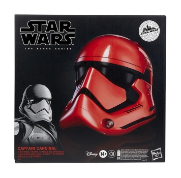 Captain Cardinal Electronic Helmet Black Series, Star Wars Galaxy's Edge