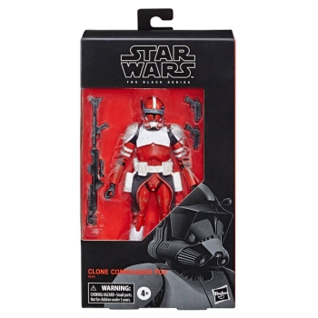 Clone Commander Fox Actionfigur Black Series Exclusive, Star Wars: The Clone Wars, 15 cm