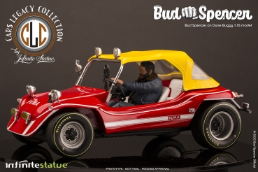 Bud Spencer on Dune Buggy Statue 1/18 Cars Legacy Collection, Watch Out, We're Mad!, 20 cm