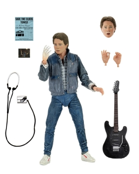 Ultimate Marty McFly (Audition) Action Figure, Back to the Future, 18 cm