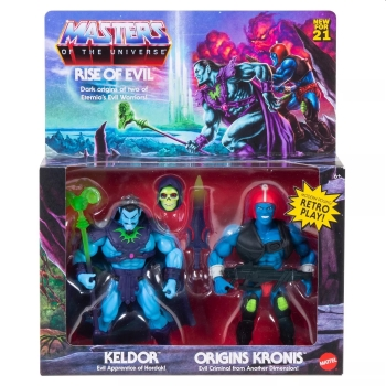 Rise of Evil Action Figure 2-Pack MOTU Origins Exclusive, Masters of the Universe, 14 cm