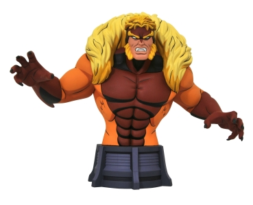 Sabretooth Bust, X-Men: The Animated Series, 15 cm