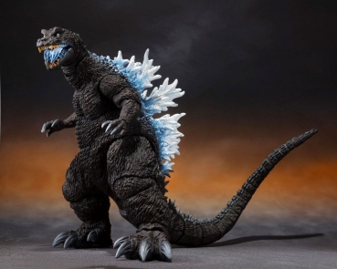 Godzilla (Heat Ray Ver.) Action Figure S.H.MonsterArts Web Exclusive, Godzilla, Mothra and King Ghidorah (2001), 16 cm