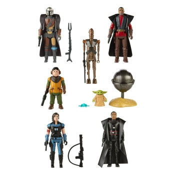 Action Figures Retro Collection Wave 3 Closed Case, Star Wars: The Mandalorian, 10 cm
