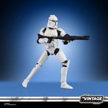 Clone Trooper Action Figure Vintage Collection Specialty VC45, Star Wars: Episode II, 10 cm, Damaged Packaging