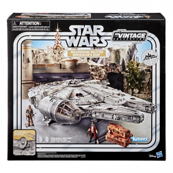 Millennium Falcon Smuggler's Run Vehicle Vintage Collection Exclusive, Star Wars Galaxy's Edge, Damaged Packaging
