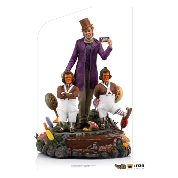 Willy Wonka Statue 1/10 Art Scale Deluxe, Willy Wonka & the Chocolate Factory (1971), 25 cm