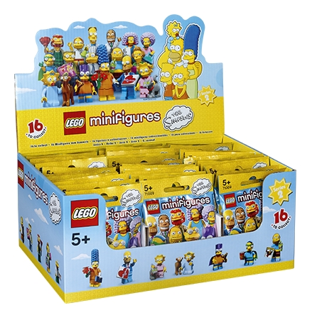 LEGO® 71009 The Simpsons™ Series 2 Minifigures SEALED BAG Choose Your Character