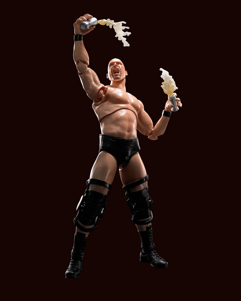 WWE Stone Cold Steve Austin SH Figuarts Action Figure