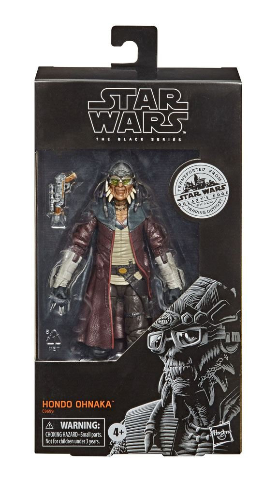 Hondo Ohnaka Action Figure Black Series Exclusive Star Wars Galaxy S Edge 15 Cm Blacksbricks