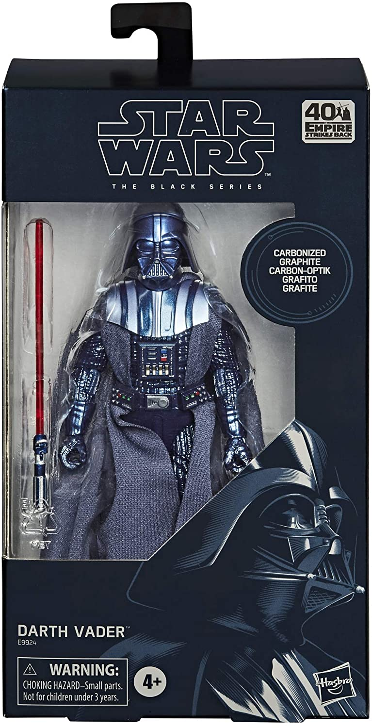 Darth Vader Action Figure Black Series Carbonized Collection Exclusive Star Wars Episode V 15 Cm Blacksbricks