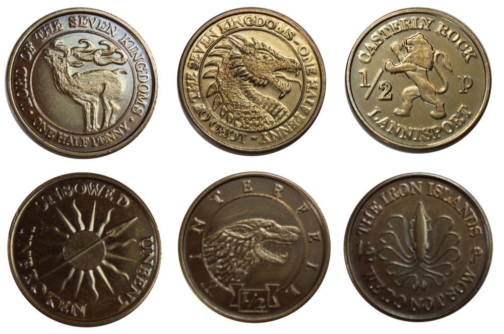 Game Of Thrones Münzen