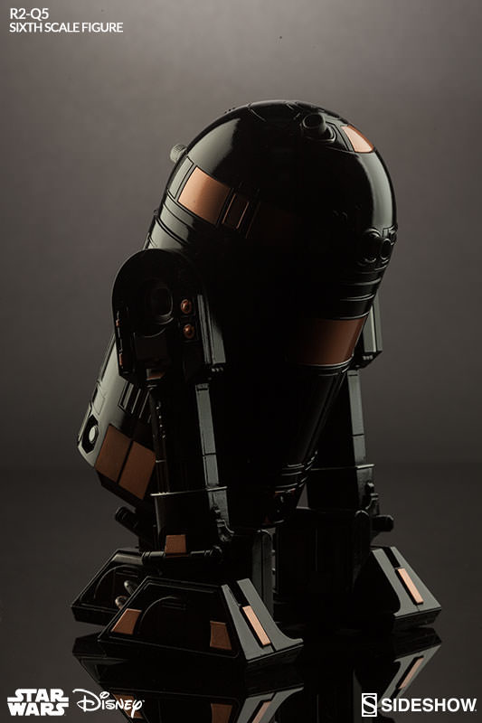 Sideshow Star Wars Sixth Scale R2-Q5 Imperial Astromech Droid Action Figure 17cm