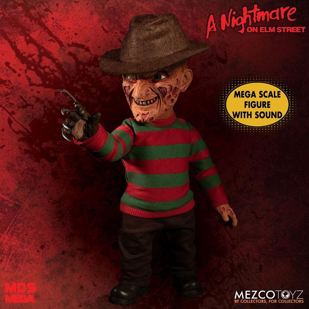 Mezco Nightmare On Elm Street Mega Scale Talking Figure Freddy Krueger 38 cm