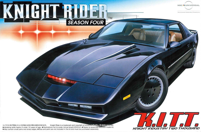 PONTIAC Trans Americana KITT K2000 Radar Lumineux Métal 1//24 Knight Rider