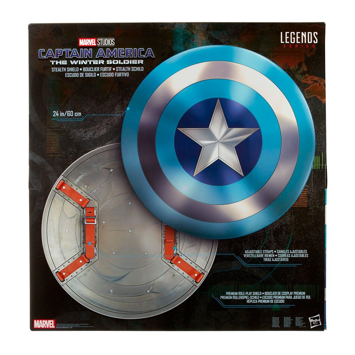 Captain America's Shield Stealth Ver. Replica Marvel Legends ...