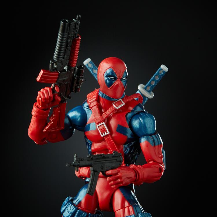 "Marvel Legends 80th Anniversary Exclusive Deadpool 6/"" Figurine Retro X-Force New"