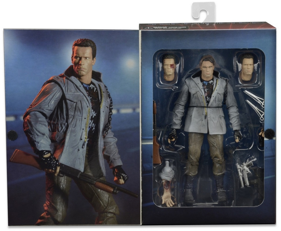 NECA THE TERMINATOR T-800 TECH NOIR Arnold Schwarzenegger Figure NEW