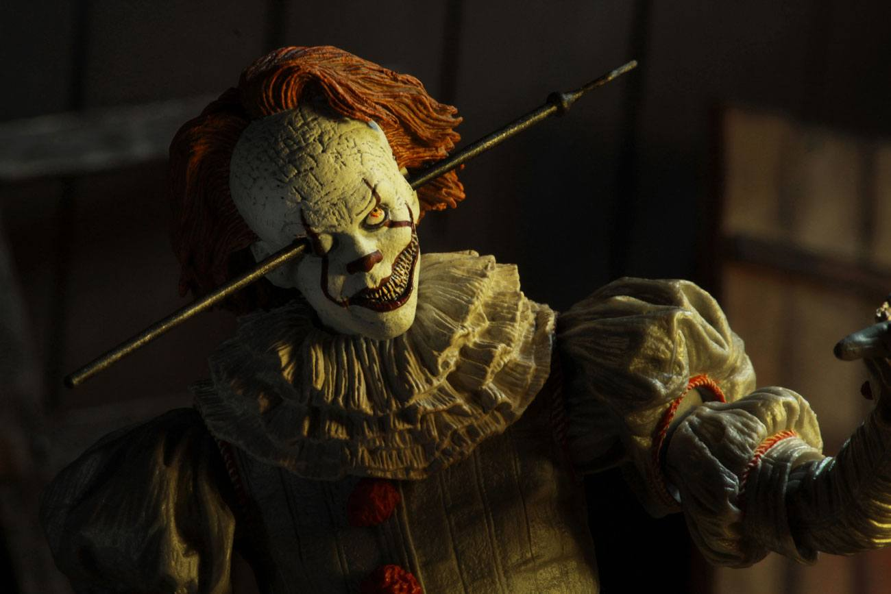 Ultimate Pennywise Well House Action Figure Stephen King S It 2017 18 Cm Blacksbricks