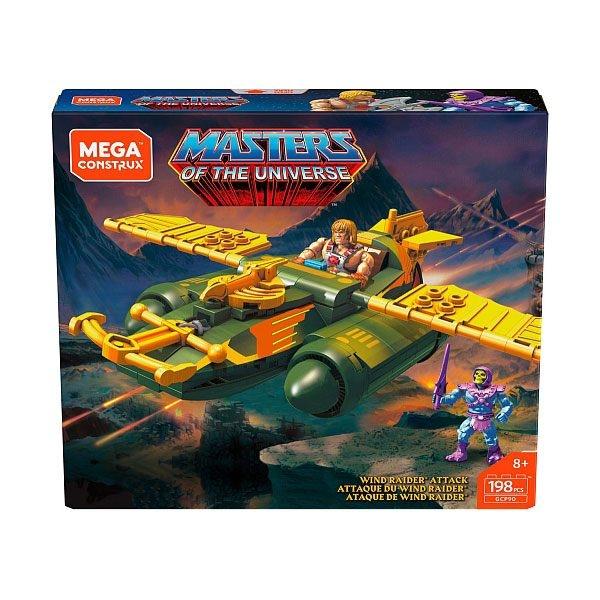 Masters Of The Universe MOTU WIND RAIDER ATTACK Bauset MTGCP90 Mega Construx